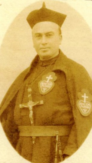 Fr Eugene Nevin CP, 1st Rector of The Graan Monastery, Enniskillen, founded in 1909 | The Graan Monastery
