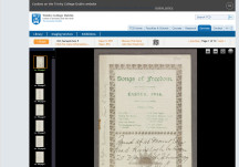 Digital Resources Available from the Library at Trinity College Dublin