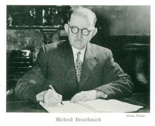 Micheál Breathnach i 1966
