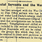 From the Papers 01 January 1916: Postal Servants and the War, Tuam Oyster Eaters and Christmas at the Front