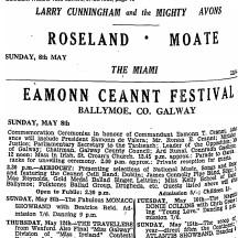 Ballymoe.1966.Newspaper Cuttings. 1916 Eamonn Ceannt Festival | Connacht Tribune 1966