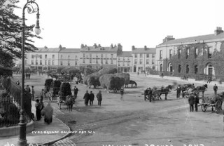 Eyre Square C.1900 | National Library of Ireland on The Commons @ Flickr Commons