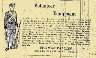 Advertisement from the Tuam Herald published on the 2nd January 1916