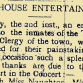 From the Papers 15 January 1916: Workhouse Entertainment