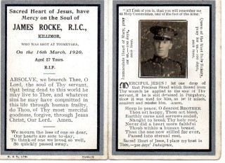 Constable James Rocke  | Killimor Heritage