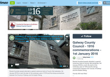 Galway County Council - 1916 commemorations - 1st January 2016