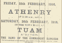 From the Papers 29 February 1916: Troops for Galway