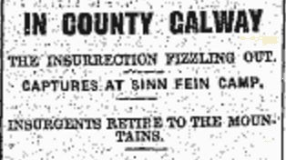 Snippet from the Connacht Tribune 06 May 1916