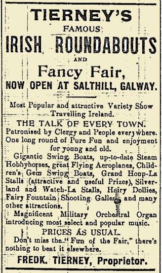 Snippet from the Galway Express 22 July 1916