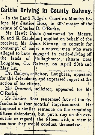 Extract from the Galway Express 24 June 1916