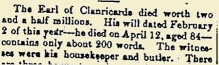 Snippet taken from the Galway Express 20 May 1916