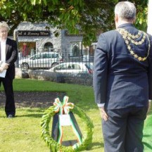 Wreath Laying Ceremony, 1916-2016