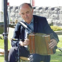 Musician Gerry Hanley playing 'Boolavogue' and 'The Boys of Wexford'