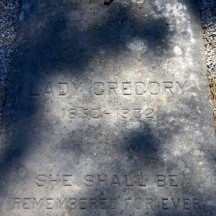Grave of Lady Gregory
