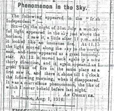 A UFO in Ballinasloe?