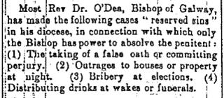 Bishop O'Dea