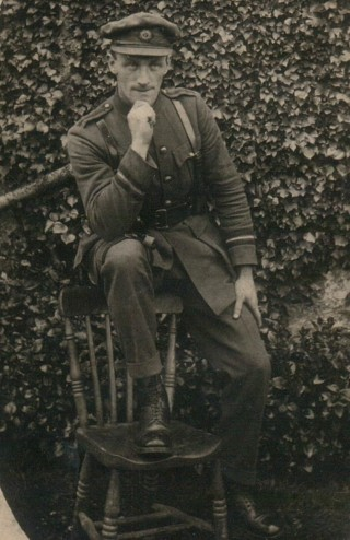 Andy Lohan, Hermitage, Ballygar; Adjutant of the Ballygar Volunteers.