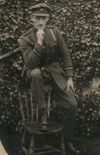 Andy Lohan, Hermitage, Ballygar; Adjutant of the Ballygar Volunteers.