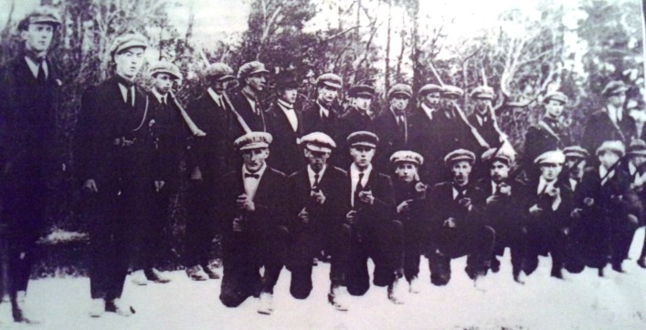The Ballygar Flying Column that was active during the War of Independence