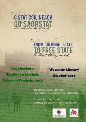 'From Colonial State to Free State, what they said…'