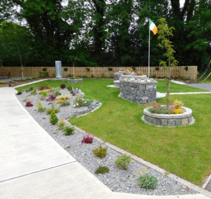 Éamonn Ceannt Commemorative Garden, Ballymoe | Photo: Courtesy Dr. Mark McCarthy