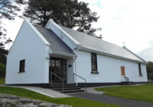 Former Schoolhouse: the National School at An Gort Mor