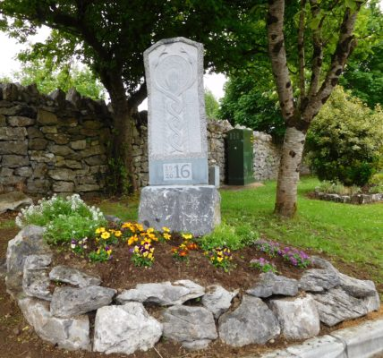 Galway 2016: Remembering – The 1916 Memorial for the Athenry/Oranmore Municipal Area, Ballinamana Road, Clarinbridge | Photo: Courtesy Dr. Mark McCarthy