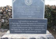 1916–2016 Memorial Stone, Limepark North