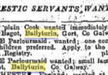 Ballyturin domestic staff