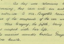 An account of the ambush at Ballyturin House, 1921