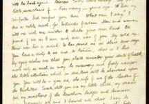 Éamonn Ceannt's last letter