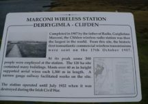 Site of Clifden's Marconi Radio Tower